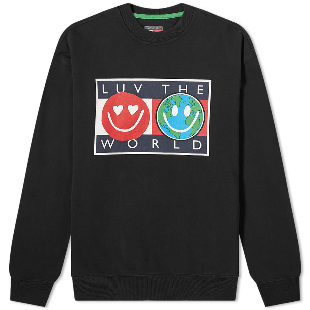 Tommy Jeans Tj Us Luv The World Crew Sweat