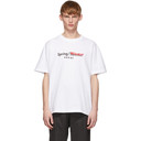 Sacai White Printed T-Shirt