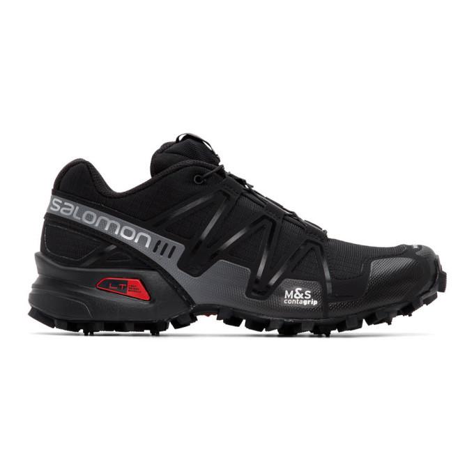 Photo: Salomon Black Limited Edition Speedcross 3 ADV Sneakers