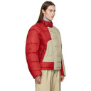 GmbH Beige and Red Helly Hansen Edition Recycled Down Hans Jacket