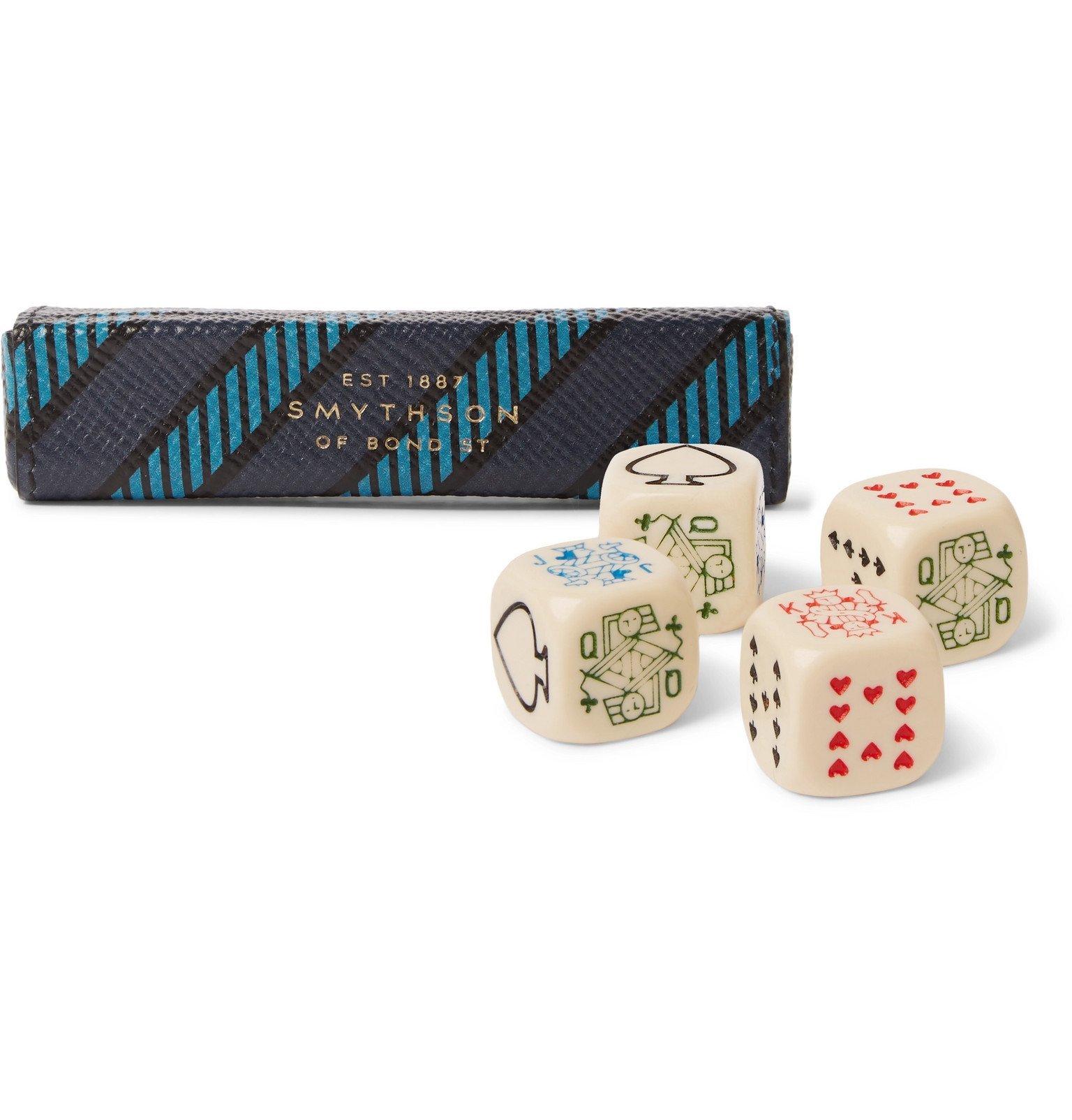 Smythson - Panama Poker Dice - Multi
