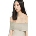3.1 Phillip Lim Off-White Lurex Off-The-Shoulder Pullover