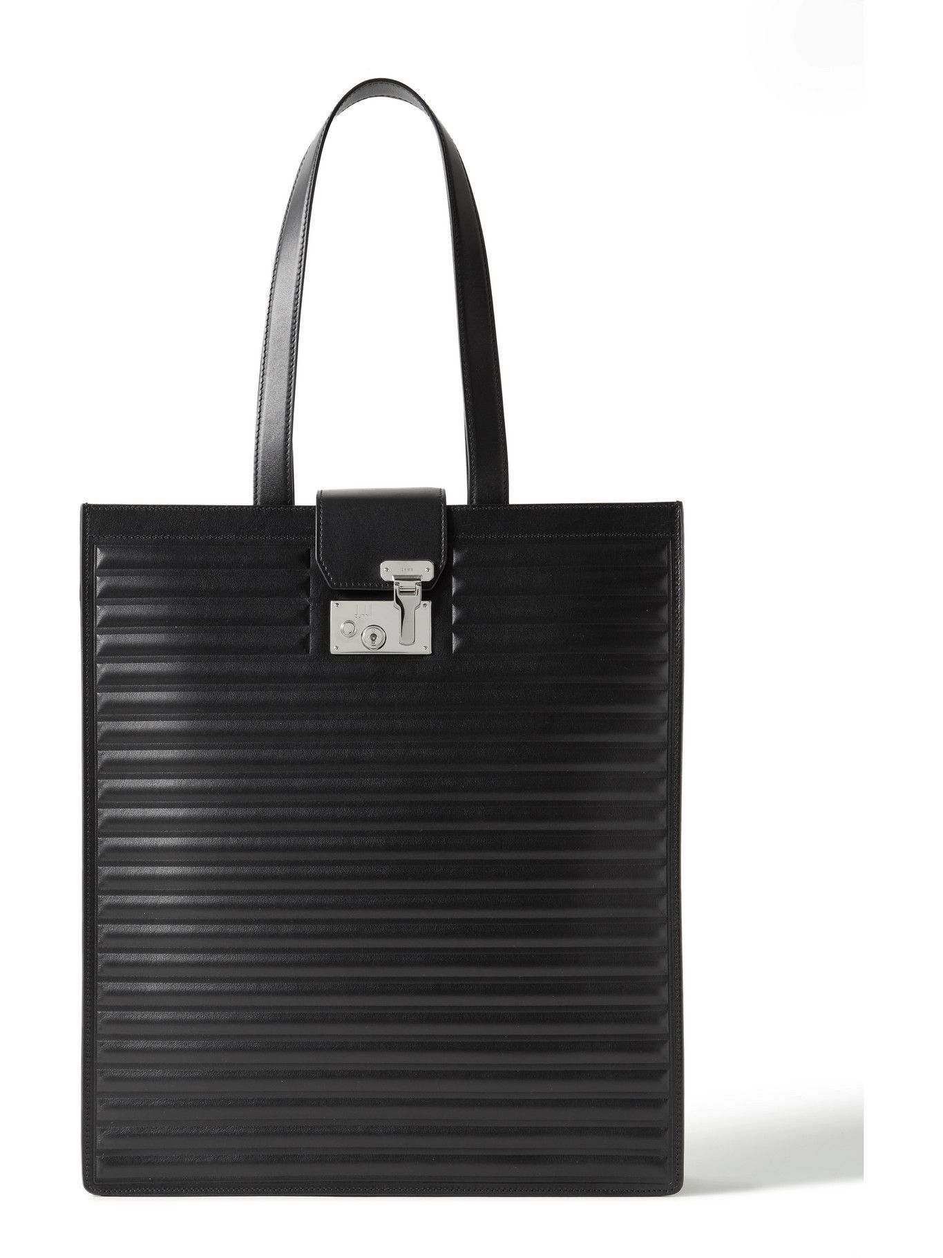Photo: Dunhill - Lock Quilted Leather Tote Bag