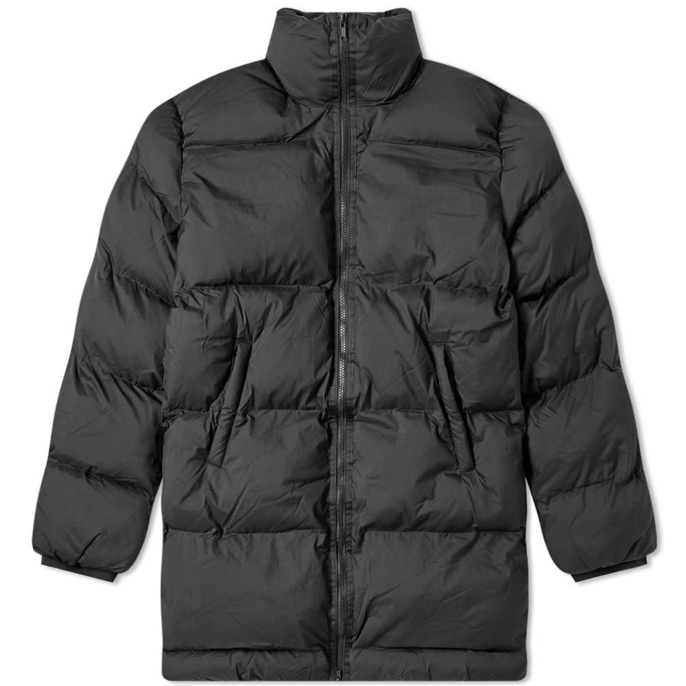 Photo: MKI Nylon Long Bubble Jacket Black