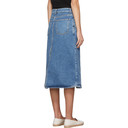Stella McCartney Blue Vintage Denim Skirt
