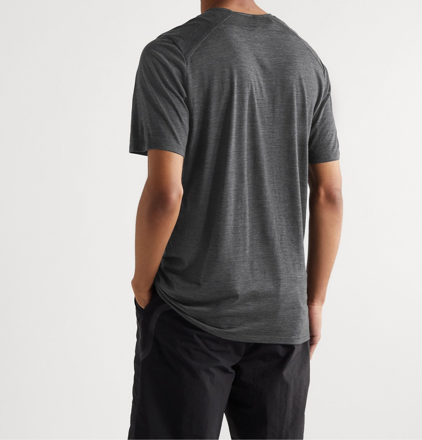 Veilance - Frame Wool and Nylon-Blend Jersey T-Shirt - Gray