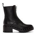 3.1 Phillip Lim Black Studded Hayett Boots