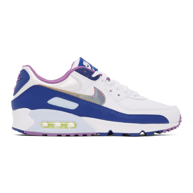 Photo: Nike White Air Max 90 SE Sneakers