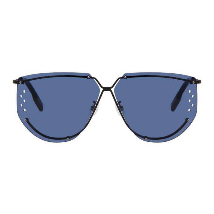 Photo: Kenzo Black Square Sunglasses