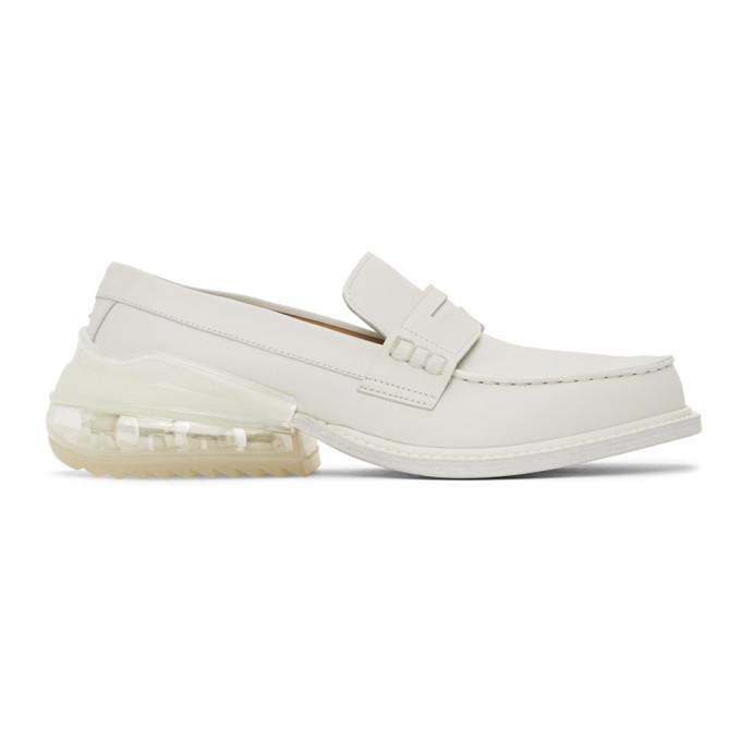 Photo: Maison Margiela White Airbag Loafers
