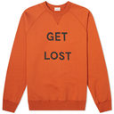 Wood Wood Get Lost Crew Sweat