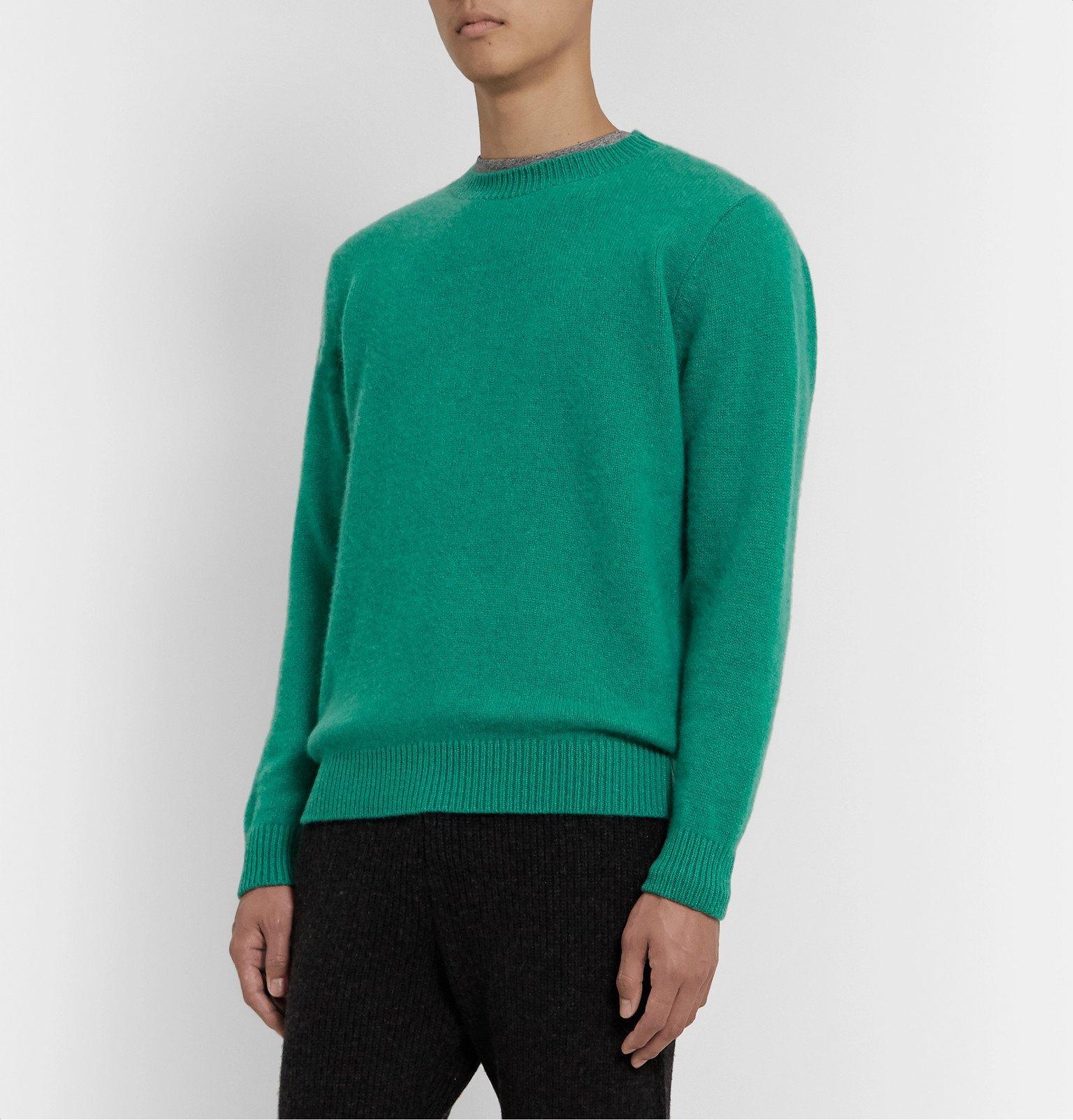 The Elder Statesman - Cashmere Sweater - Green