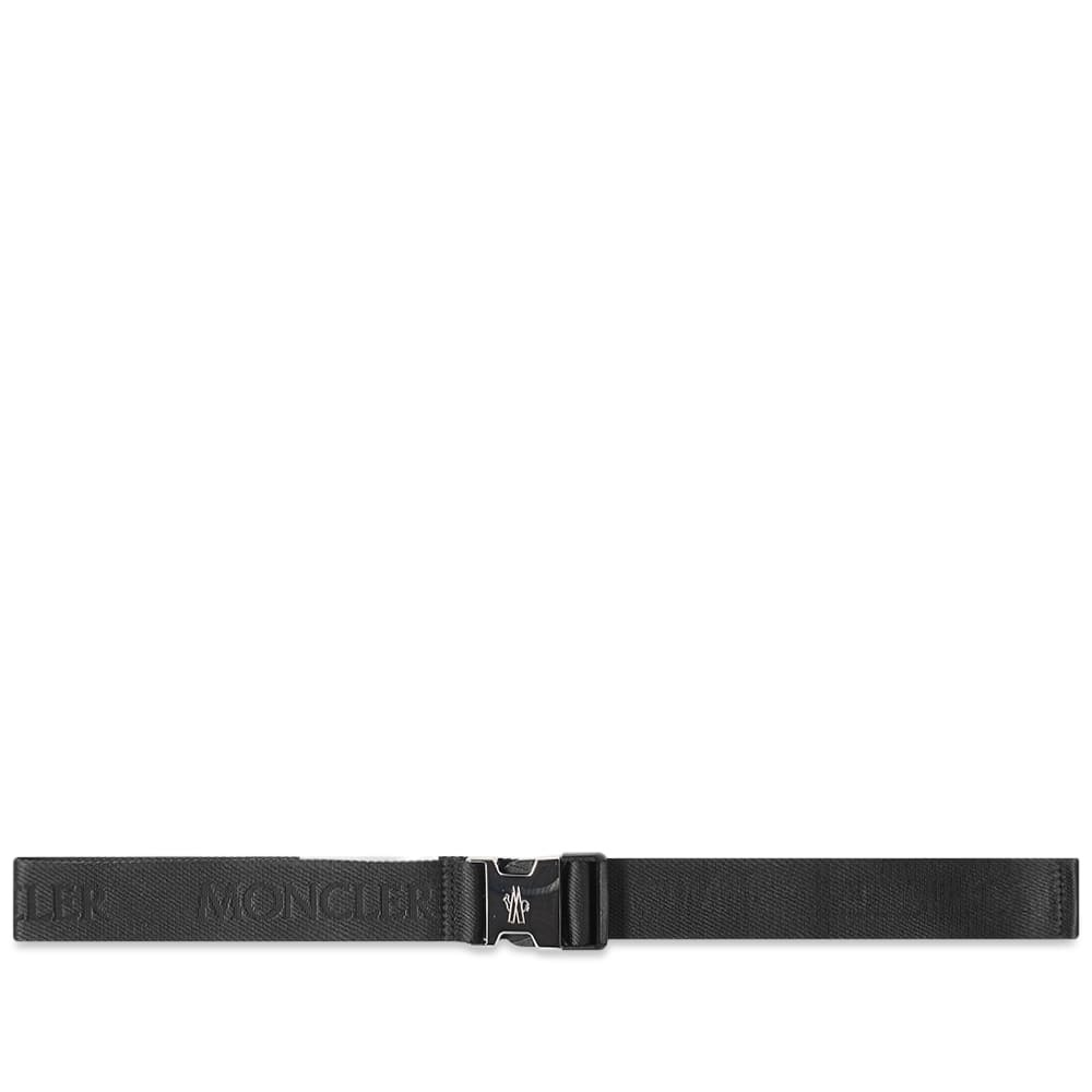 Photo: Moncler Webbing Logo Belt