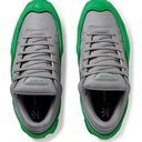 Raf Simons - adidas Originals Ozweego Mesh and Leather Sneakers - Men - Gray