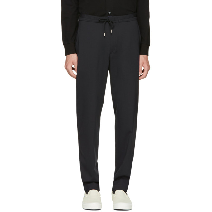 Photo: Paul Smith Black Casual Jogger Trousers