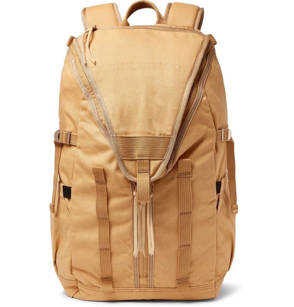Photo: nonnative - Hunter Cotton-Canvas Backpack - Beige
