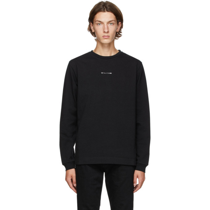 Photo: 1017 ALYX 9SM Black A Sphere Long Sleeve T-Shirt