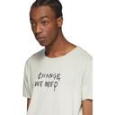Ksubi Grey Change We Need T-Shirt
