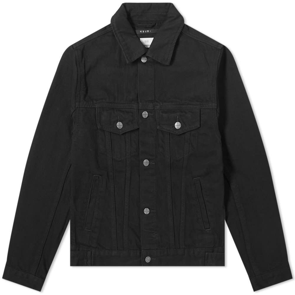 Photo: Ksubi Classic Jacket Laid Denim Jacket