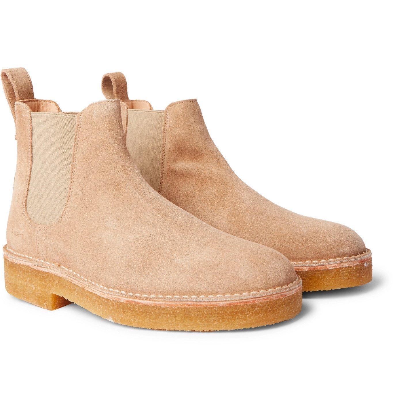 Photo: Clarks Originals - Suede Chelsea Boots - Brown