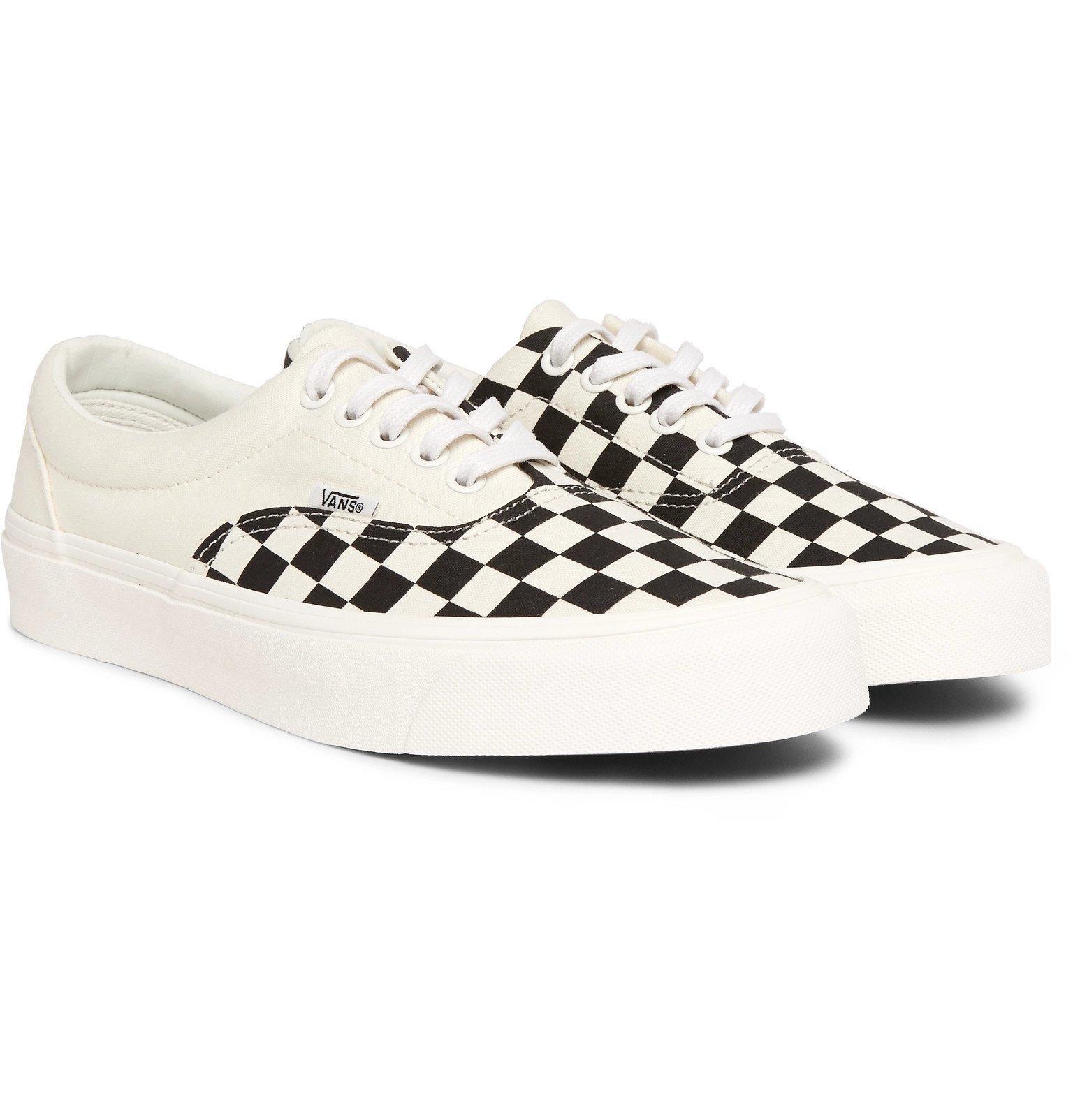 vans checkerboard canvas