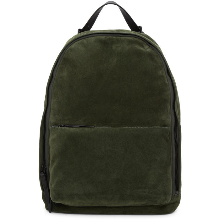 3.1 Phillip Lim Green Suede 31 Hour Backpack