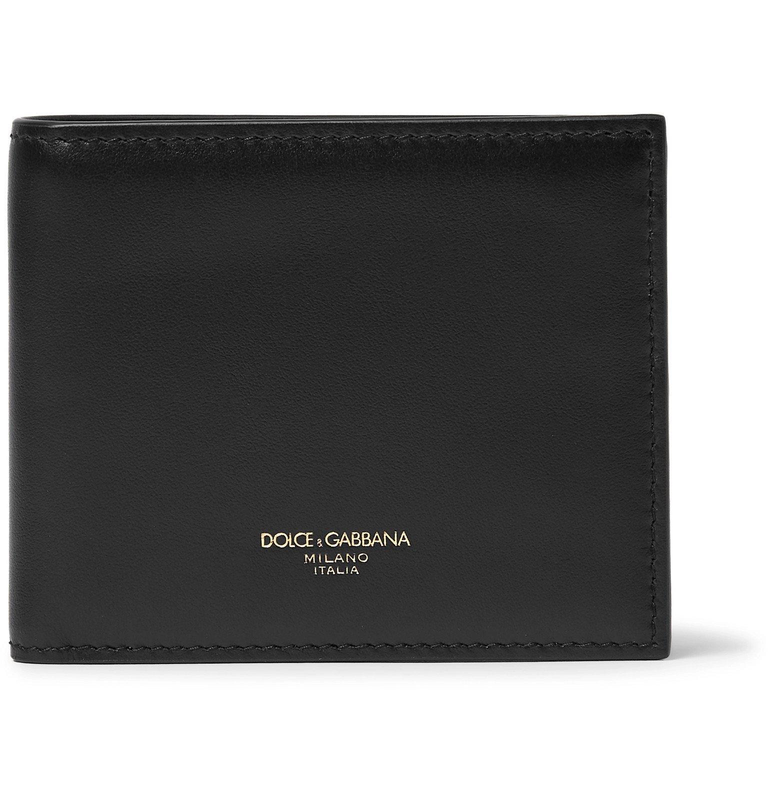 Photo: Dolce & Gabbana - Leather Billfold Wallet - Black