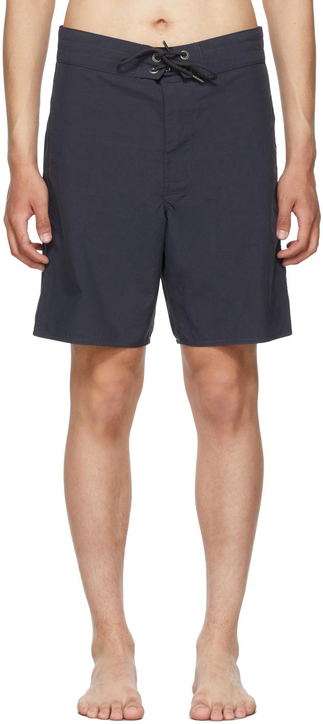 Photo: RRL Navy Twill Swim Shorts