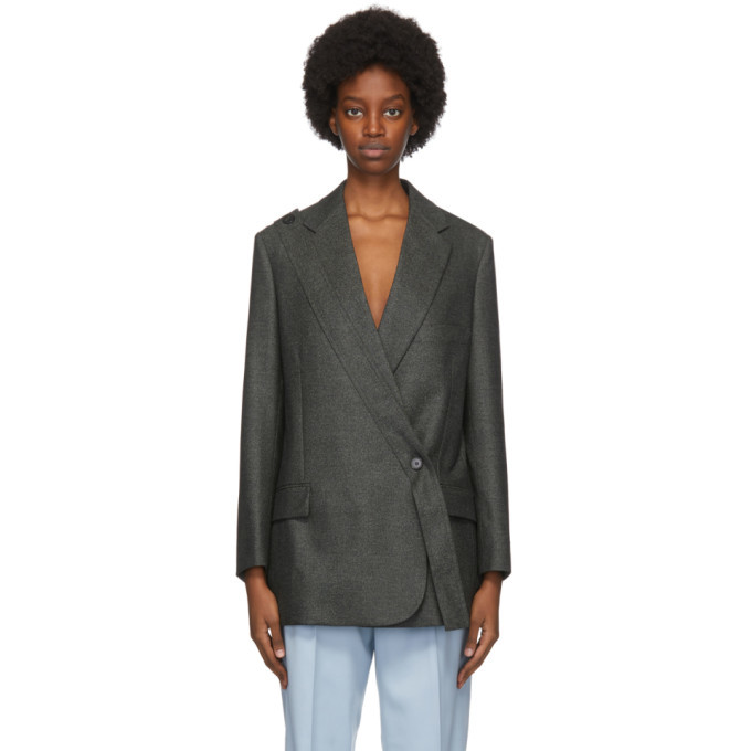 Photo: Stella McCartney Grey Wool Rylee Blazer