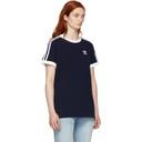 adidas Originals Navy 3-Stripes T-Shirt