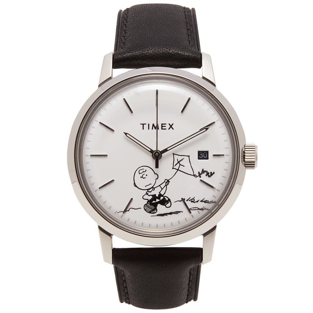 "Photo: Timex Archive ""Charlie Brown"" Marlin Automatic Watch"