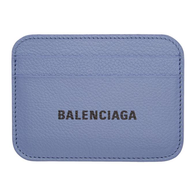 Photo: Balenciaga Purple Cash Card Holder