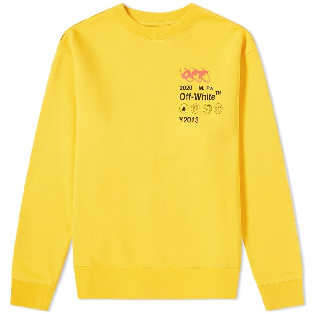 Photo: Off-White Industrial Y013 Crew Sweat