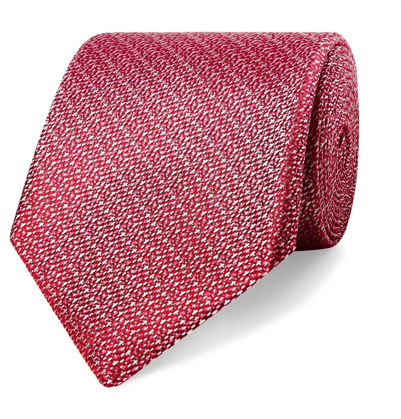 Photo: Canali - 8cm Silk-Jacquard Tie - Pink