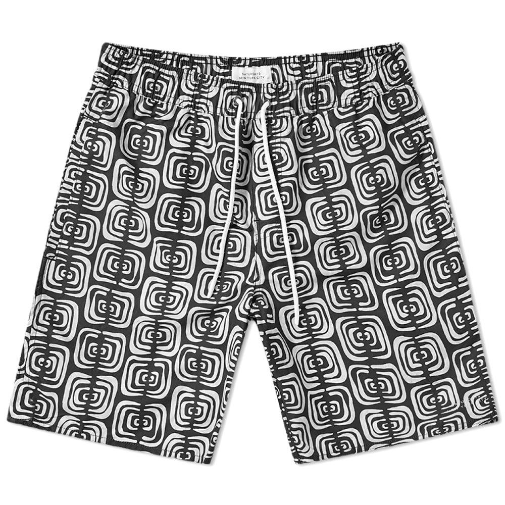 Photo: Saturdays NYC Timothy Kuba Cloth Swim Short
