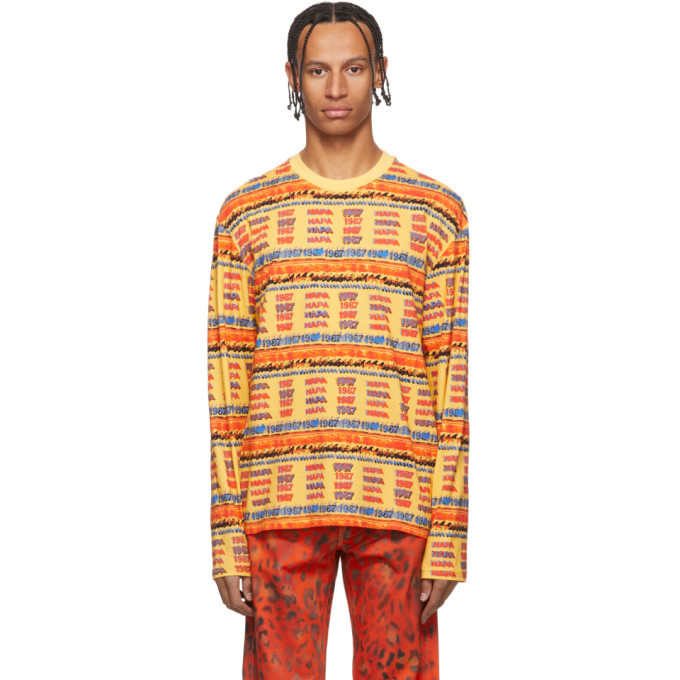 Photo: NAPA by Martine Rose Multicolor Wallace Long Sleeve T-Shirt