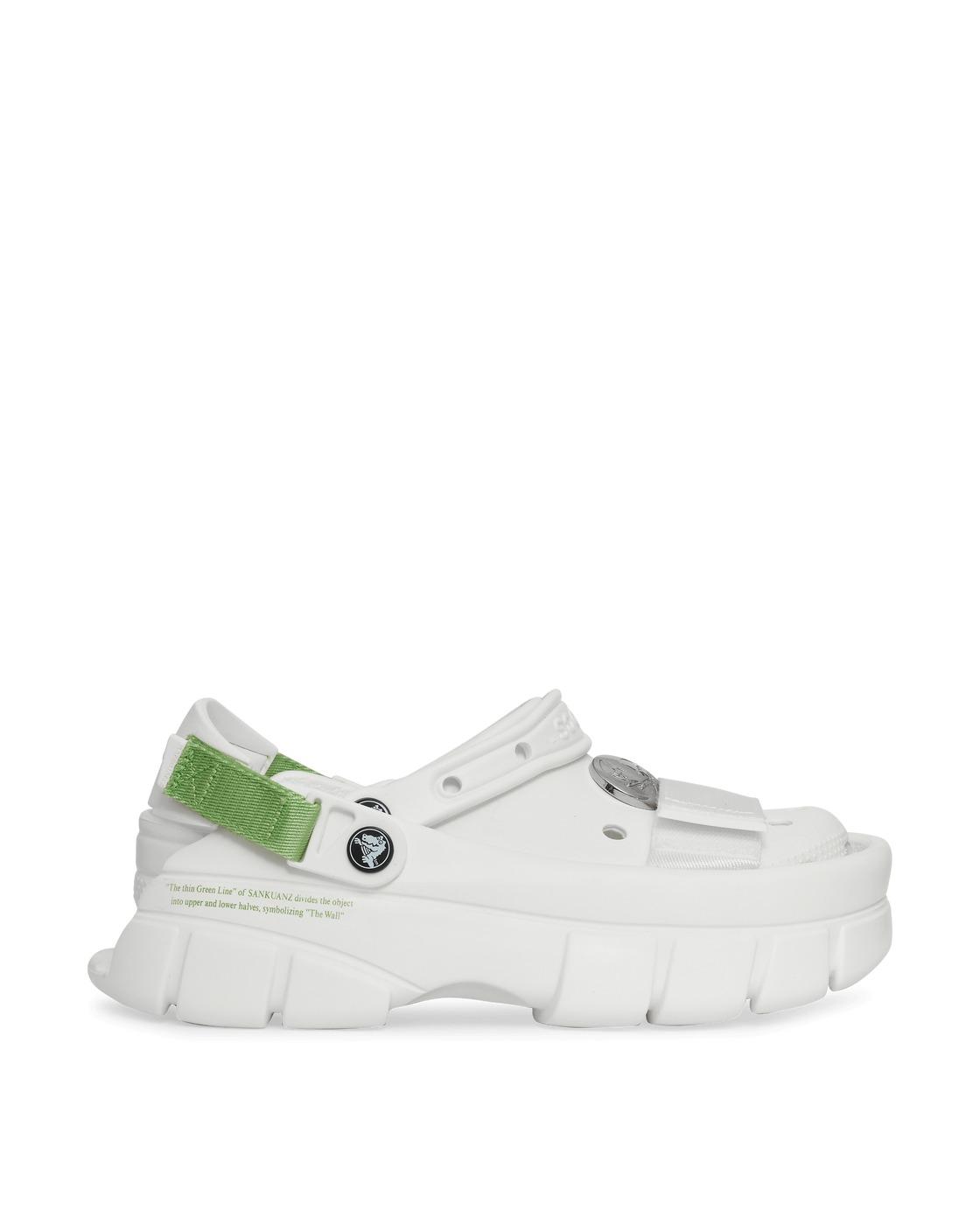 Photo: Crocs Sankuanz Classic Clogs White