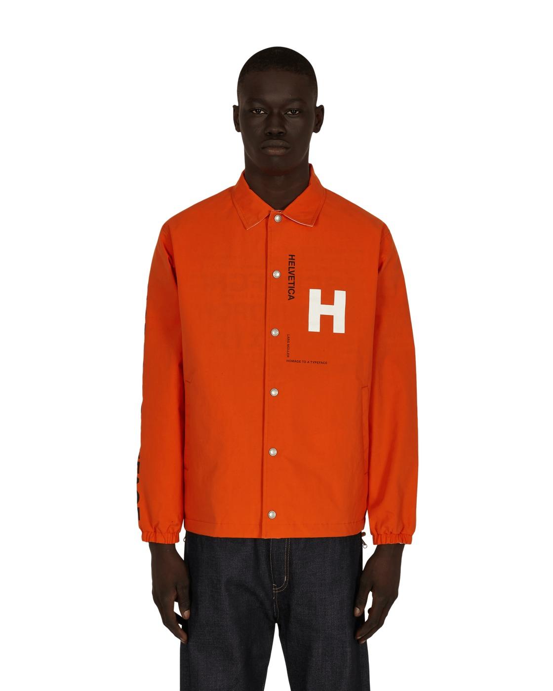 Photo: Junya Watanabe Man Helvetica Reversible Coach Jacket Org/Black