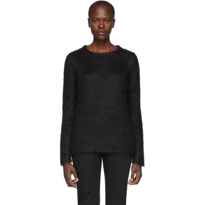 Photo: 1017 Alyx 9SM Black Mohair Briar Sweater