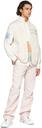 MCQ White Nylon Ripstop Shirt
