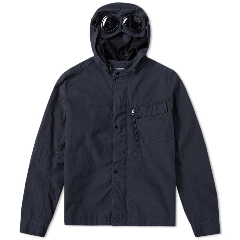 C.P. Company Garment Dyed Detachable Goggle Overshirt