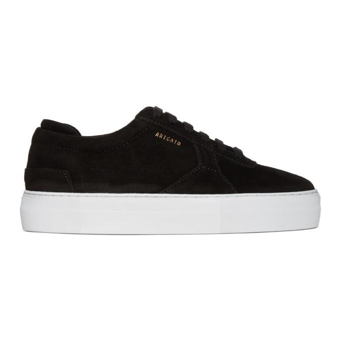 Photo: Axel Arigato Black Suede Platform Sneakers