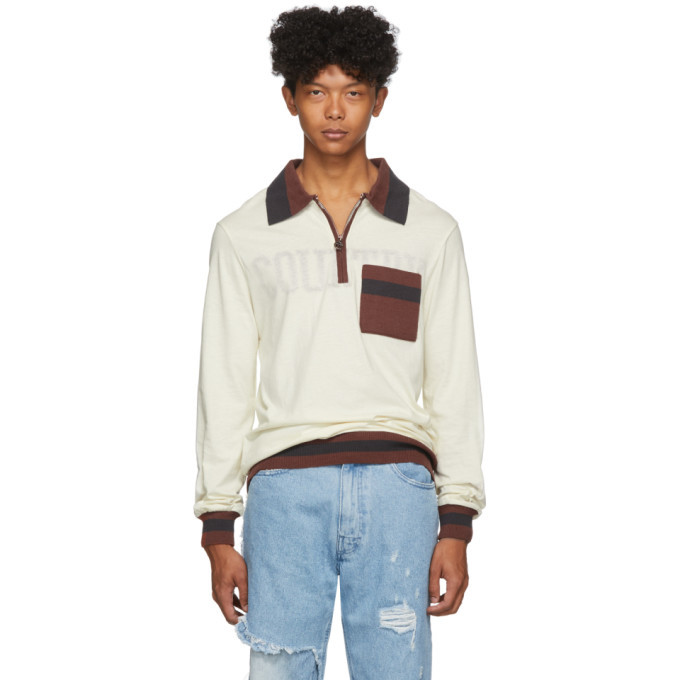 Photo: Telfar Off-White Medium Polo