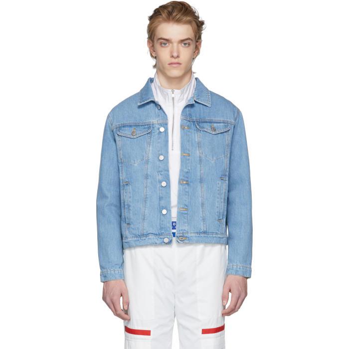 Photo: MISBHV Blue Denim Dystom Jacket