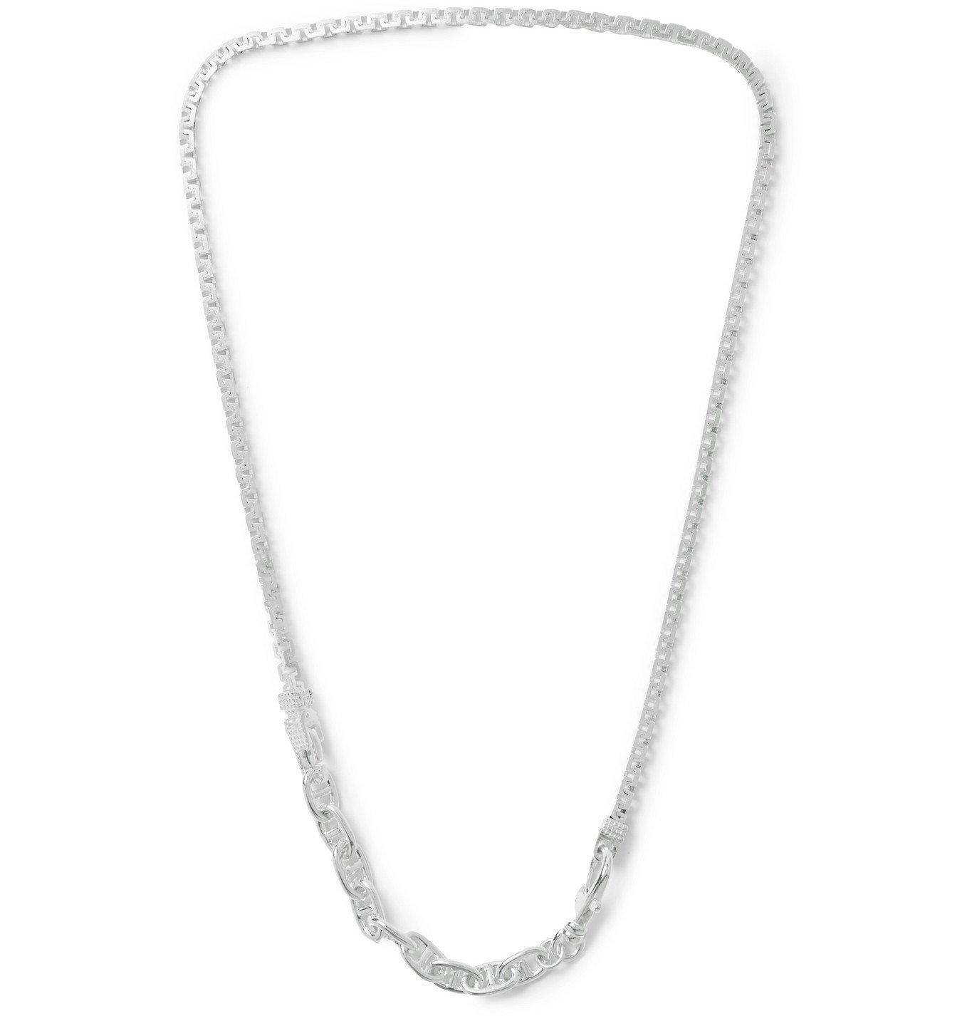 Photo: Martine Ali - Sterling Silver Chain Necklace - Silver