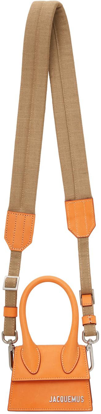 Photo: Jacquemus Orange 'Le Chiquito Homme' Bag