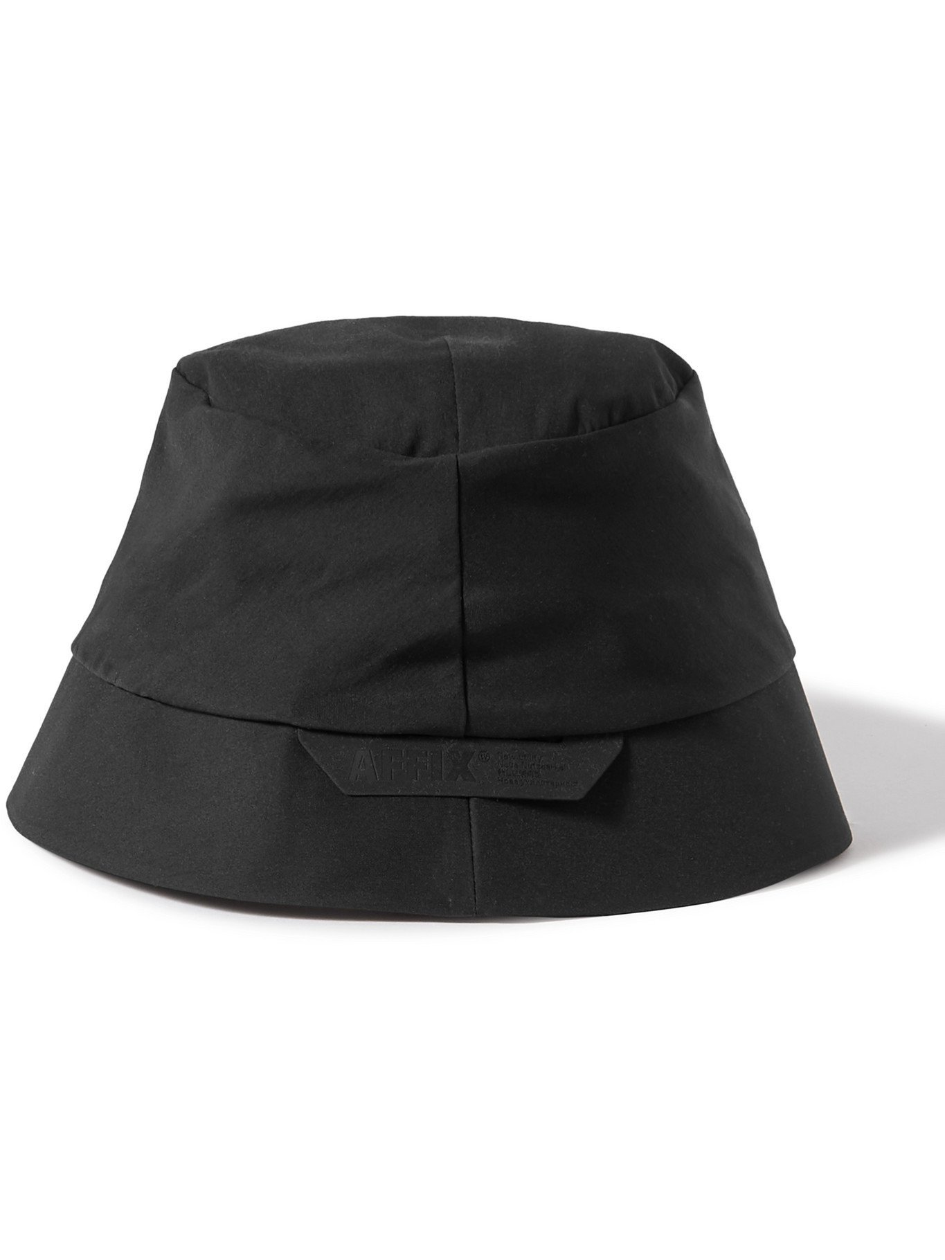 Photo: AFFIX - Stow Stretch-Shell Bucket Hat - Black