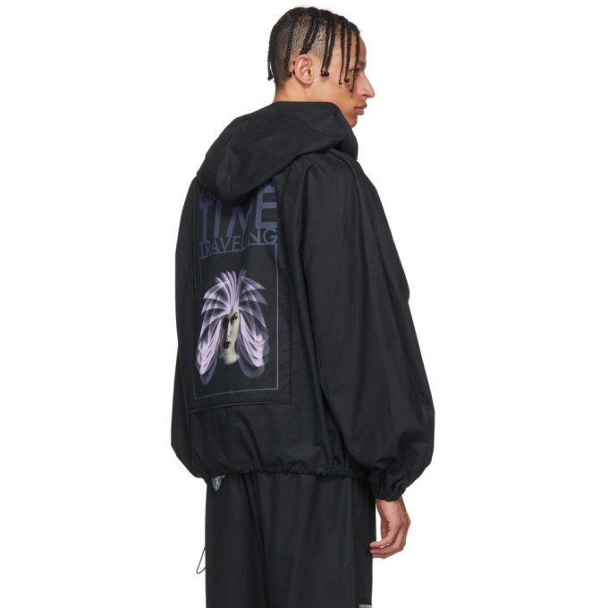 Off-White Black Art Dad Shuttle Track Jacket