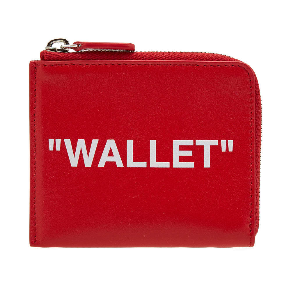 Photo: Off-White Quote Zip Wallet