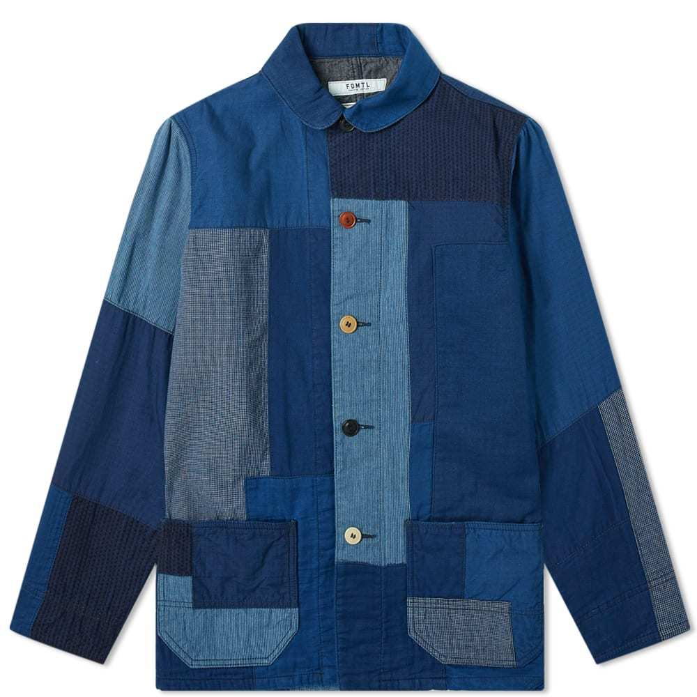 Photo: FDMTL Sashiko Coverall Jacket Indigo